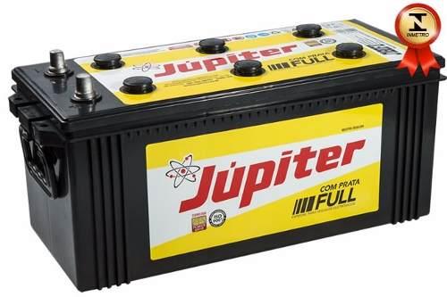 Bateria Automotiva Júpiter 180ah 12v Com Prata