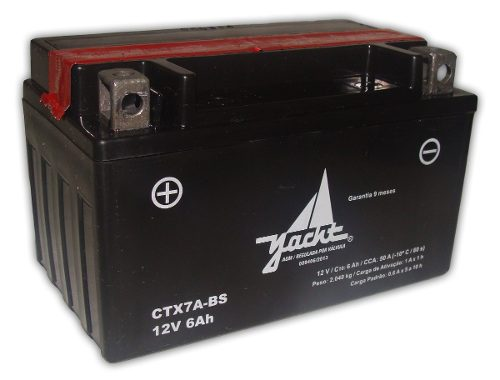 Bateria De Moto Yacht Ytx7a-bs Burgman 125 Future 125 Ninja