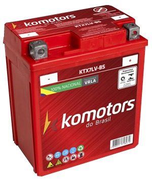 Bateria De Moto Agm Ytx7l-bs Twister Nx 200 Cb 300r Cbx 250