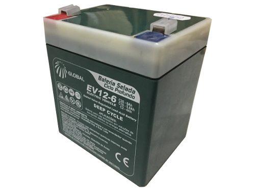 Bateria Selada VRLA 6ah 12v Ciclo Profundo