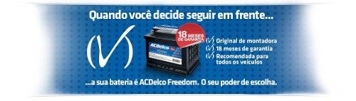 Bateria Automotiva Ac Delco 70ah 12v Selada