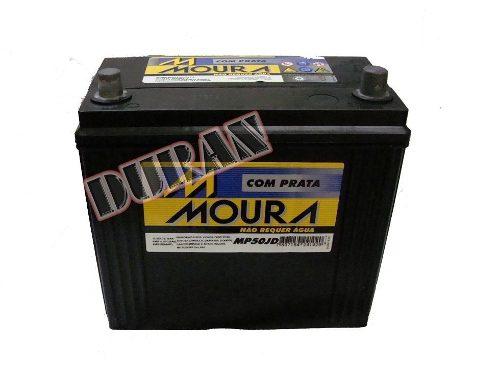 Bateria Automotiva Moura 50ah 12v Inteligente Selada