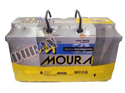 Bateria Automotiva Moura  95ah 12v Inteligente Selada