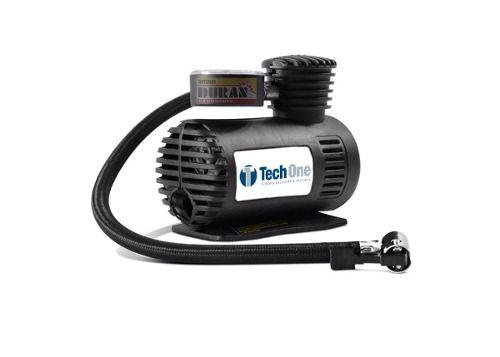 Kit Compressor Ar 12v Aspirador Po Automotivo 12v Tech One