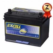 Bateria Automotiva Selada Excell 80ah 12v