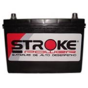 Bateria de Som Stroke Power 115ah/hora e 1050ah/pico