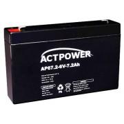 Bateria Selada 7ah 6v Tecnologia Vrla / Agm