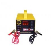 Carregador de Bateria Stroke Power 5ah 24v Inteligente com Amperímetro Digital