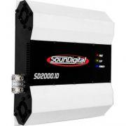 Módulo Amplificador Soundigital 2000w Brinde Adesivo + Cabo