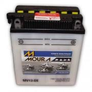 Bateria de Moto Moura Yb12al-a 12ah 12v (Mv12-DE)