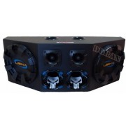 Caixa Som Automotivo Usina 1100wrms Driver + Tweeter+sub12