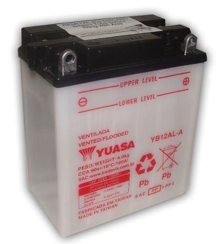 Bateria de Moto Yuasa Yb12al-a 12ah 12v