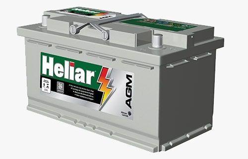 Bateria Heliar Start Stop Agm Ag 95md X6 X6 Panamera Amarok