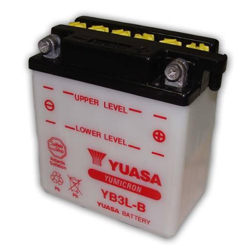 Bateria de Moto Yuasa Yb3l-b 3ah 12v