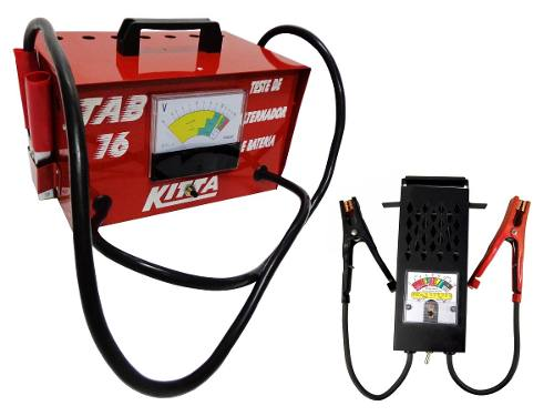 Kit Teste Bateria Automotiva Tab16 kitta Alternador Lee Tools