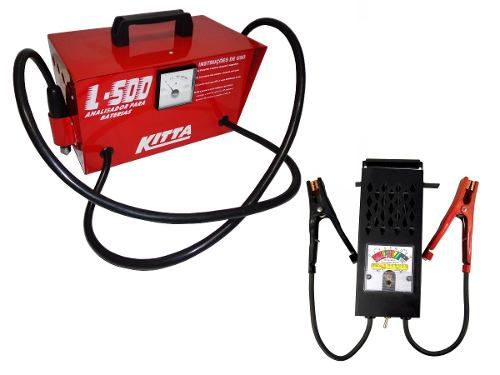 Kit Teste Bateria Automotiva L500 Kitta Alternador Lee Tools
