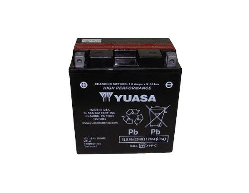 Bateria de Moto Yuasa Ytx20ch-bs 18ah 12v Selada