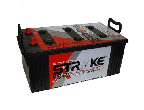 Bateria de Som Stroke Power 400ah/hora e 3000ah/pico