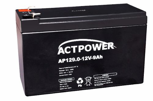 Bateria Selada 9ah 12v Tecnologia Vrla / Agm