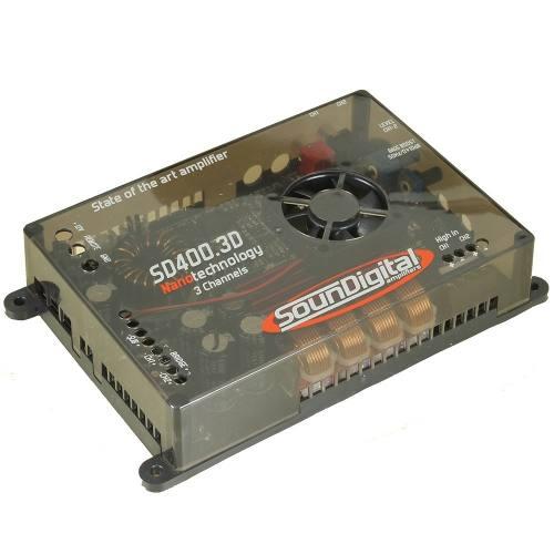 Módulo Amplificador Soundigital 400.3d 500wrms 14,4v + Cabo