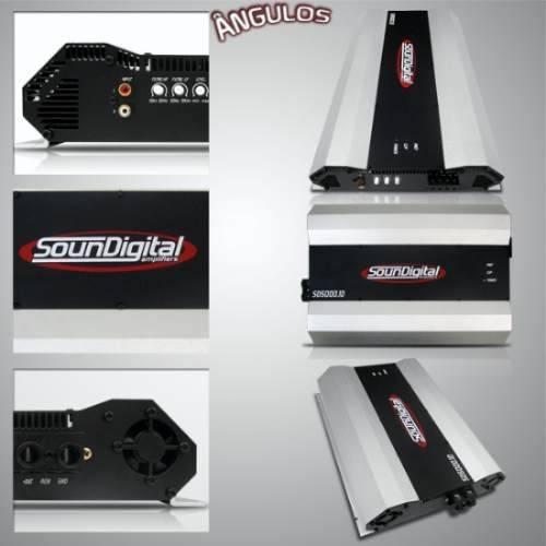 Módulo Amplificador Soundigital 5000w Brinde + Cabo +adesivo