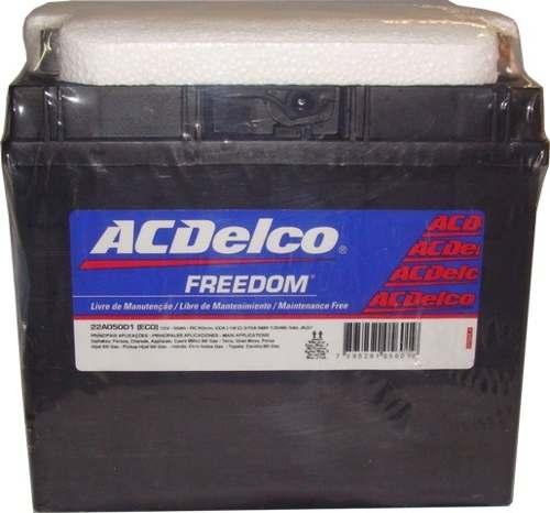 Bateria Automotiva Ac Delco 47ah 12v Selada