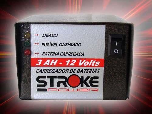 Carregador De Bateria 3ah Portátil.