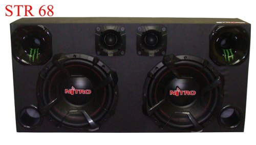 Caixa Som Automotivo Nitro G4 1800w Rms-sub12+tweeter+driver