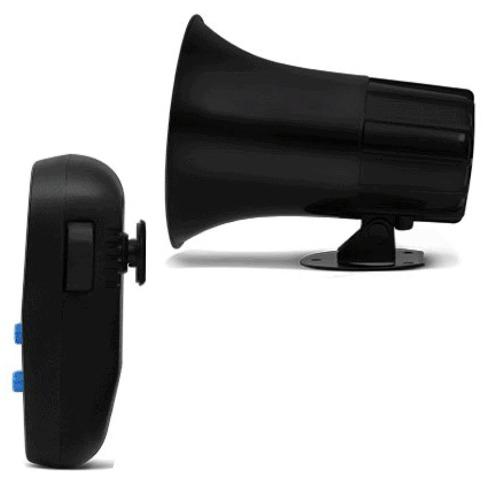 Sirene Automotiva 7 Tons Tech One Com Microfone