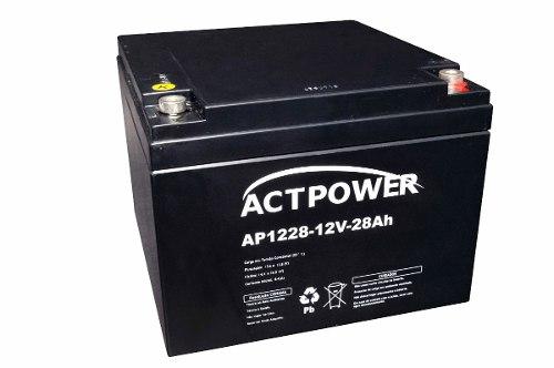 Bateria Selada 28ah 12v Tecnologia Vrla Nobreak