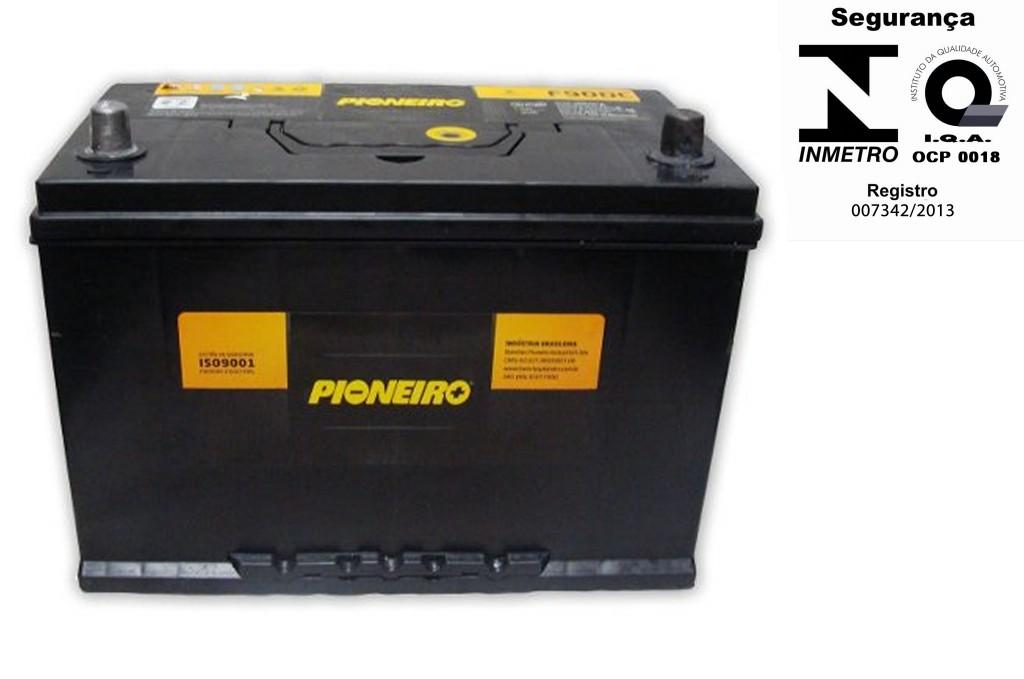 Bateria Automotiva Pioneiro 90ah 12v Selada