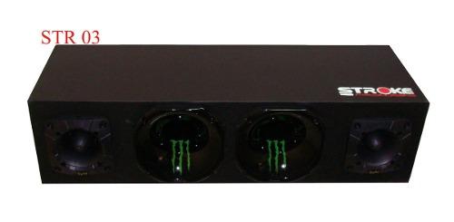 Corneteira Stroke Power 2x2 400w Rms