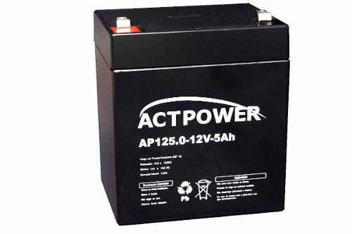 Bateria Selada 5ah 12v Tecnologia Vrla / Agm