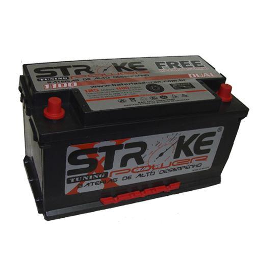Bateria de Som Stroke Power 125ah/hora e 1100ah/pico Selada.