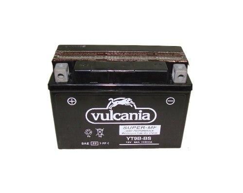Bateria de Moto Vulcania Yt9b-bs 8ah 12v Selada