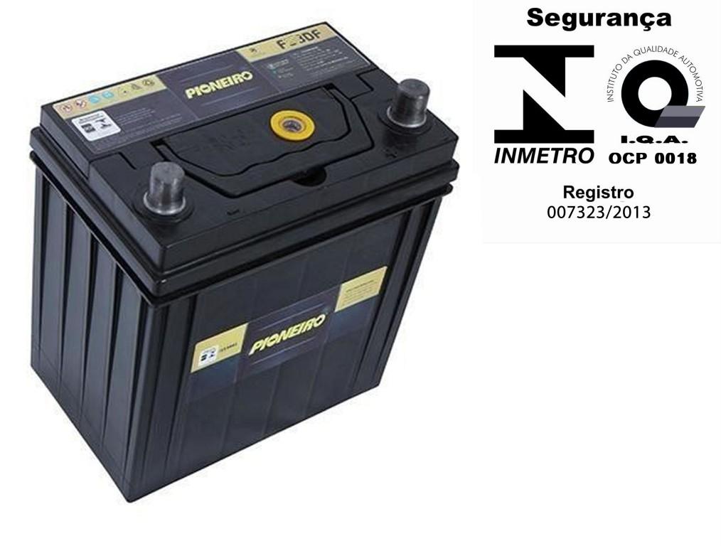 Bateria Automotiva Pioneiro 52ah 12v Selada Civic Cargo CRV RAV4