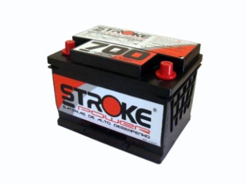 Bateria De Som Stroke Power 80ah Mais Carregador 10ah 12v