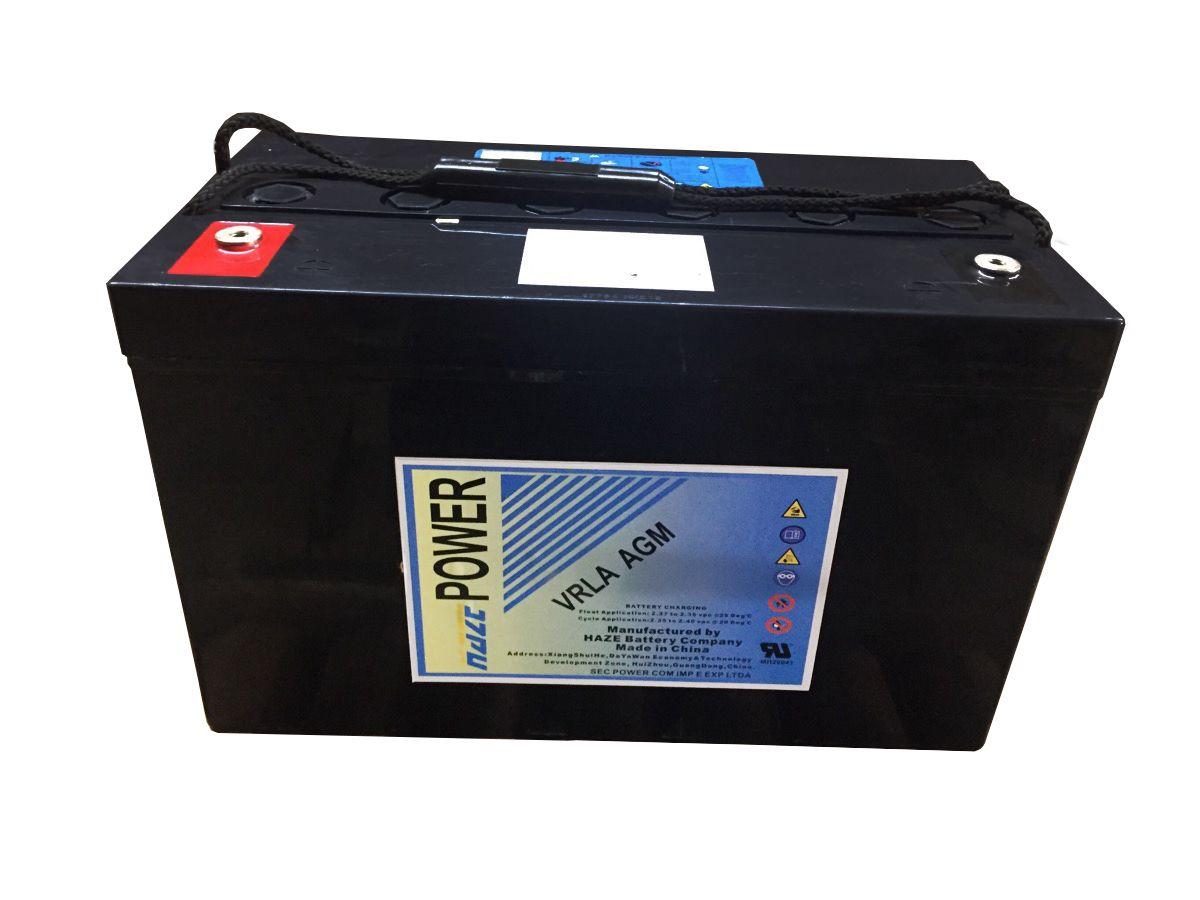 Bateria Usada Selada 100Ah 12v Gel Som Automotivo  Nobreak  Estacionária SEMI NOVA