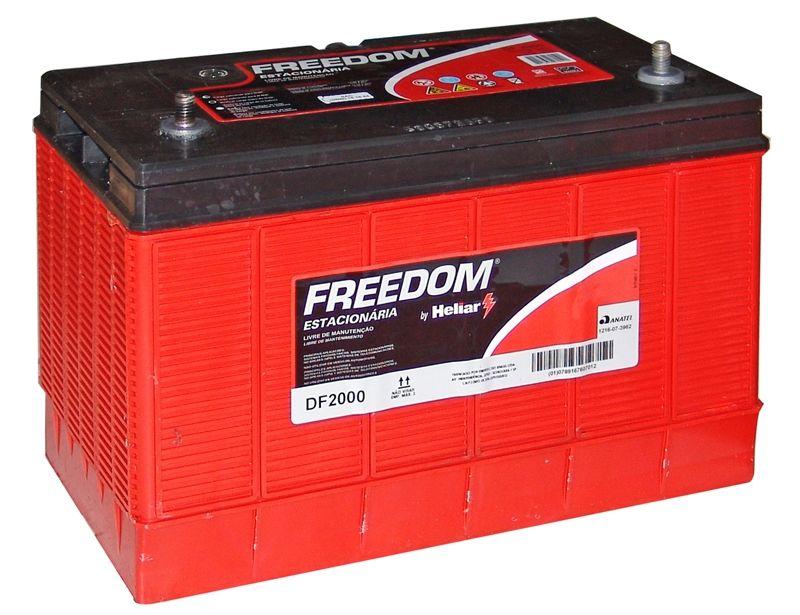 Kit 5 Baterias Usadas Freedom Df2000 115ah Nobreak Energia Solar