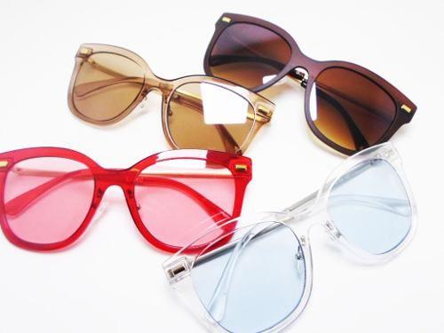 Oculos De Sol Transparente Jaqueline Chic style Cores