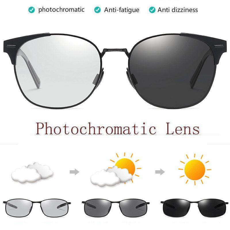 Lentes Multifocal Fotocromática Fotossensível Com Grau E Sol