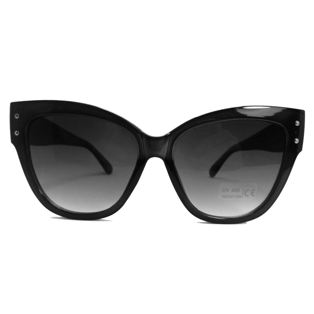 Óculos De Sol Oversized Gatinho Grande Straight Polarizado