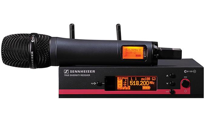 Sennheiser EW 145 G3 Sistema Microfone Sem Fio Com Mic E845