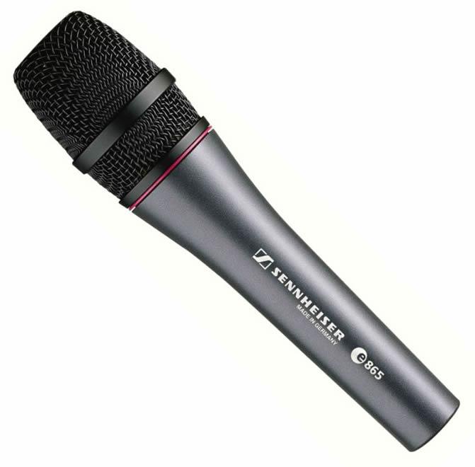 Sennheiser E865 Microfone Supercardióide Condensador, Vocal