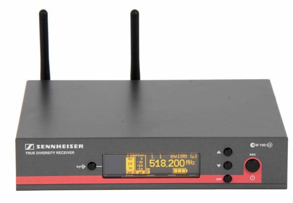 Sennheiser EW 165 G3 Sistema Microfone Sem Fio Com Mic E865