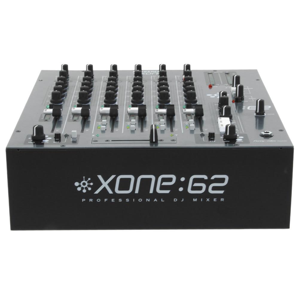 Allen Heath XONE 62 Mixer Dj Profissional 6 Canais Ideal Club, Bivolt