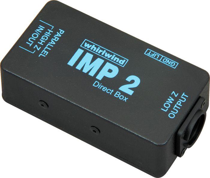 Whirlwind IMP 2 Direct Box Passivo Para PA ou Est�dio