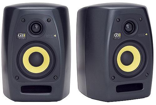 Krk VXT4 Monitor de Áudio Ativo 45W, 4