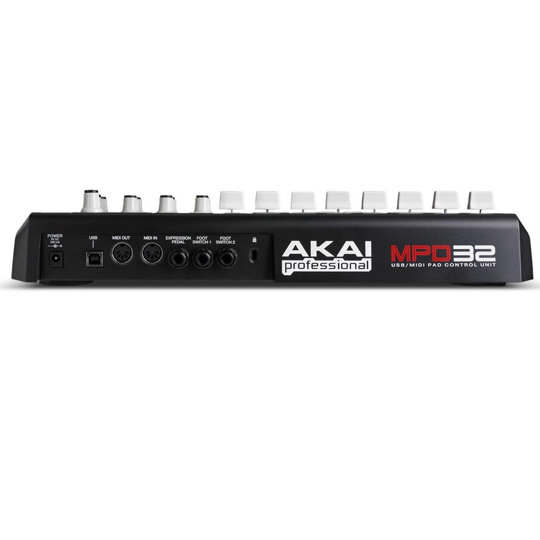 Akai MPD32 Pad Controladora, Usb
