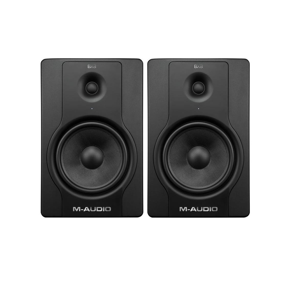 M-Audio BX8 D2 Monitor de Áudio Ativo 130W, 8